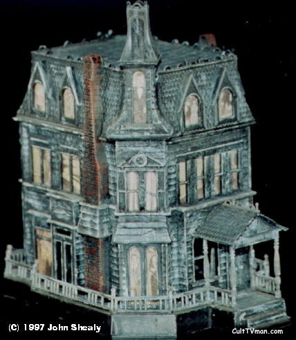 Addams family haunted house model