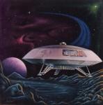 Ron Gross's Jupiter 2 Box Art