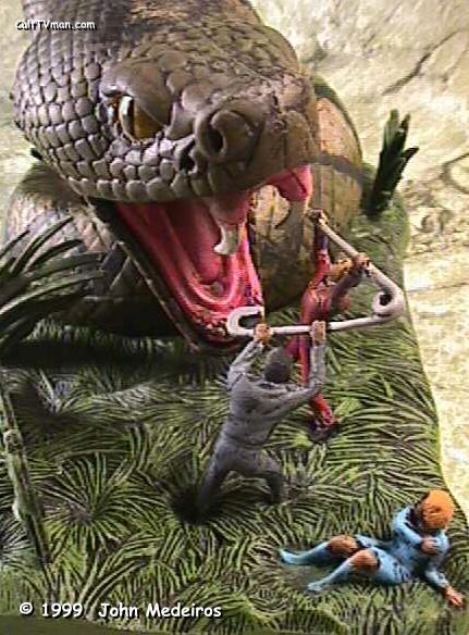 scott beckmann s snake diorama culttvman s fantastic modeling