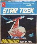 AMT Romulan Bird of Prey is being reissued