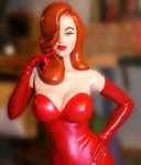 The Lady in Red from Red Planet Models