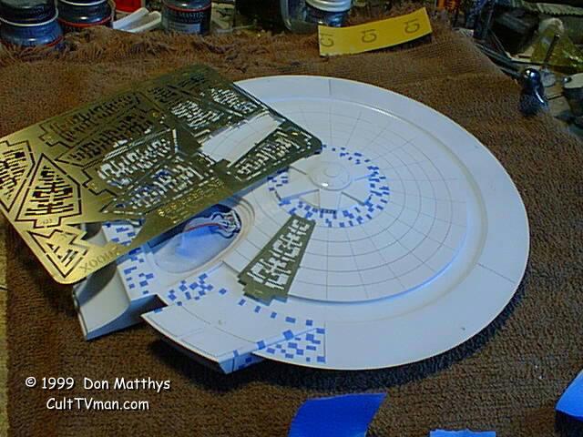 WTS Walker Enterprises Aztec templates for Star Trek Kits - All ...