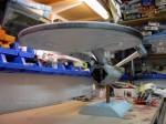 On the Bench 206: Marc King's Polar Lights Refit Enterprise part 1