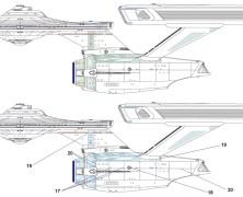 Agatha Chamberlain's Refit Enterprise diagrams