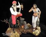 Joe Bergman's Sinbad diorama