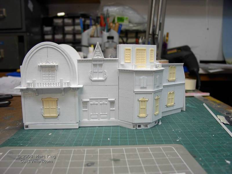 Munsters House Interior Next comes the roof pieces,