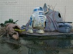 Guilherme David's Star Wars Dagobah diorama