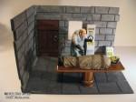 Rick Evans' Creepy Castle Diorama