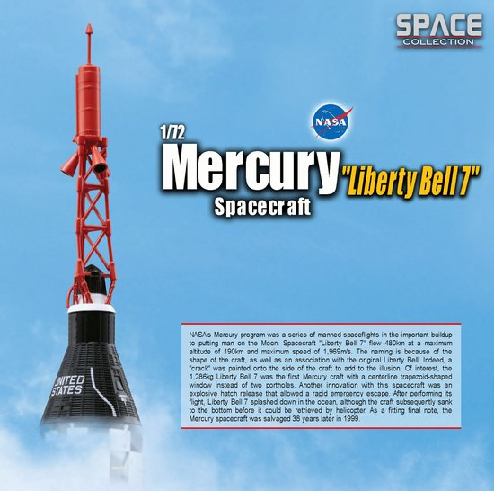 liberty bell 7 spacecraft model -#main