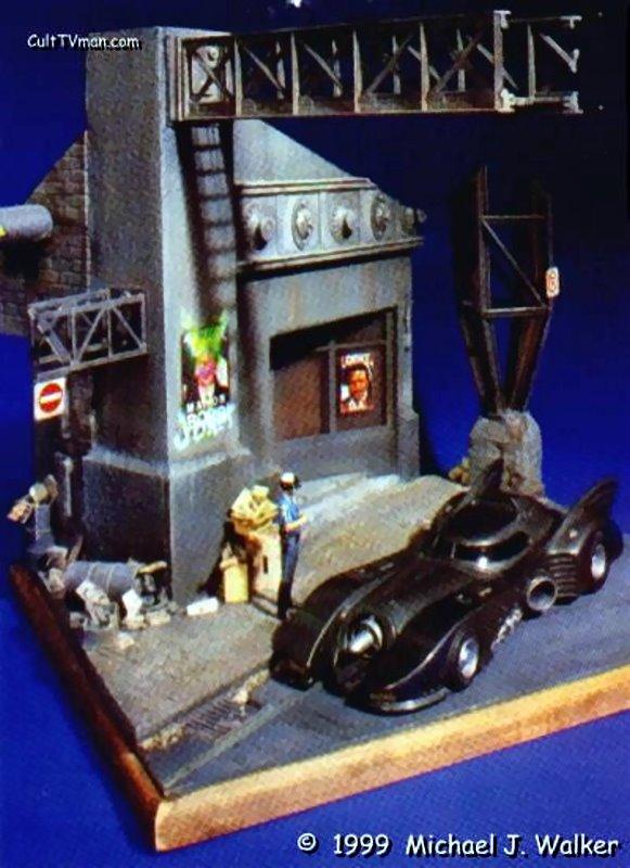 Star Auto Parts >> Michael Walker's 'Bad Career Move' Batman diorama – CultTVman's Fantastic Modeling