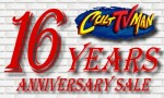 CultTVman's 16% - 16th Anniversary Sale!
