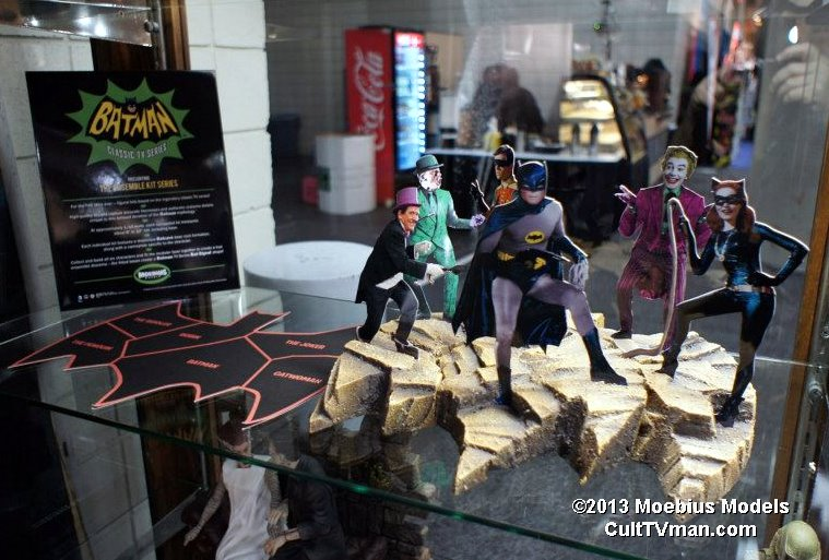 Moebius models posted some new images from toy fair on their facebook
