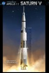 Apollo 11 1:72 scale Saturn V kit from Dragon