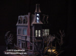 Randy Neubert's lighted Addams Family House