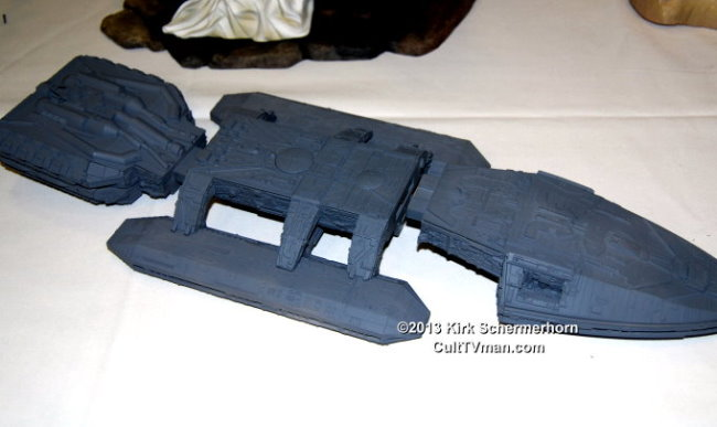 Wonderfest 2013 News:  Galactica kits from Moebius