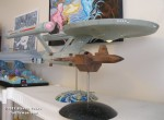 Steven Vasko's 1:350 Classic Enterprise and Botany Bay