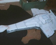 On The Bench 211C:  Nick Turner's Cardassian Warship