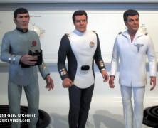 Gary O'Connor's Star Trek figures