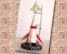 "Jim James' ""Man in Space"" Ferry Rocket"