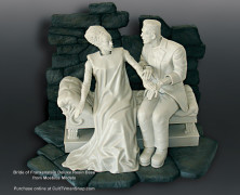 Wonderfest 2014 Preview #5:  Deluxe Bride Base from Moebius