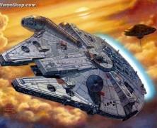 Wonderfest 2014 Sneak Peak #3  Fine Molds Millennium Falcon
