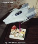 Building and Detailing the Star Wars A-Wing   by Olivier Cabourdin