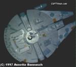 Annette Bannasch's Millennium Falcon