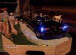 Dwayne Tipton's 1966 Batmobile diorama