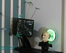 James Horn's Starship display