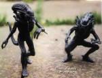 Al Murray's Alien figures