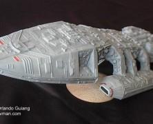 5 Great Classic Battlestar Galactica models!