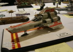 Wonderfest 2015: Battlestar Galactica models