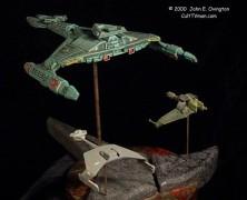 John Ovington's Klingon ships