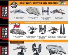 Revell Force Awakens Kits