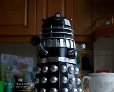 Paul Symmons' Comet Dalek