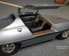 Detailing the AMT Piranha Super Spy Car by Nick Whitlow