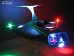 Guy Fogel's illuminated Aurora Voyager