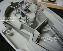 Another Sneak Peak of the Proteus from Moebius Models