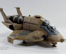 More Galactica Raptor photos from Moebius
