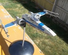 Steven Carricato's Force Awaken's Resistance X-Wing
