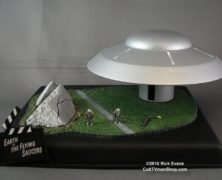 Wonderfest 2016 Preview #3 – Monsters of the Movies Earth vs. The Flying Saucers base