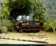 Mark Myers' '66 Batmobile diorama