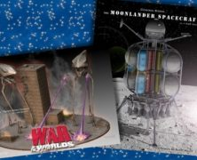Pegasus Models Sneak Peak – Moon Lander and War of the Worlds Diorama