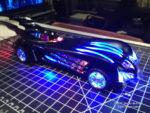 Rafael Barreto's Batman and Robin Batmobile
