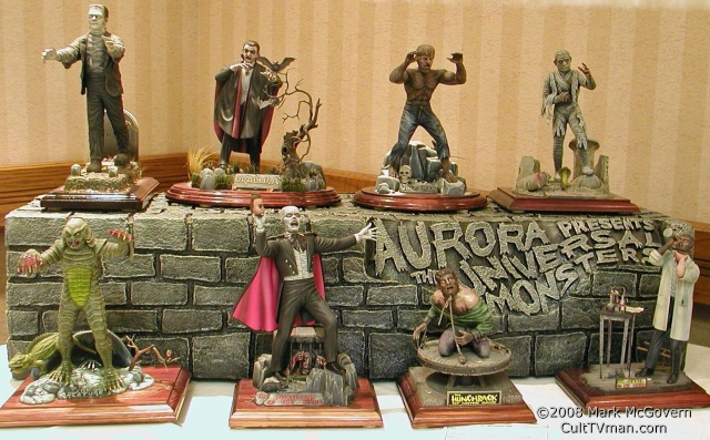 Mark McGovern's Aurora Universal Monsters – CultTVman's Fantastic Modeling