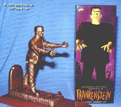 Steve Iverson's Frankenstein – CultTVman's Fantastic Modeling