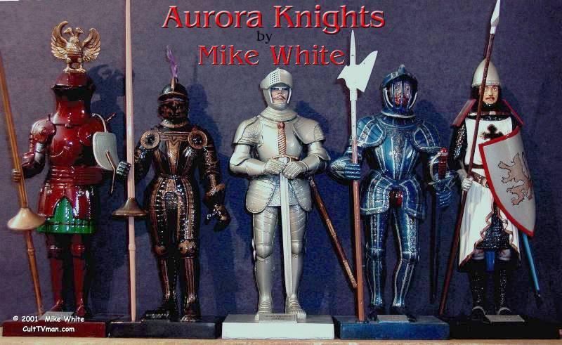 mike white u2019s aurora knights  u2013 culttvman u0026 39 s fantastic modeling