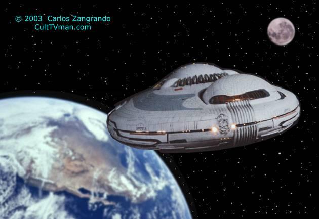 Carlos Zangrando's Lost in Space Movie Models – CultTVman's