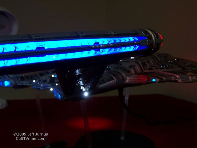 Jeff Jurrius' NX-01 with lights – CultTVman's Fantastic Modeling