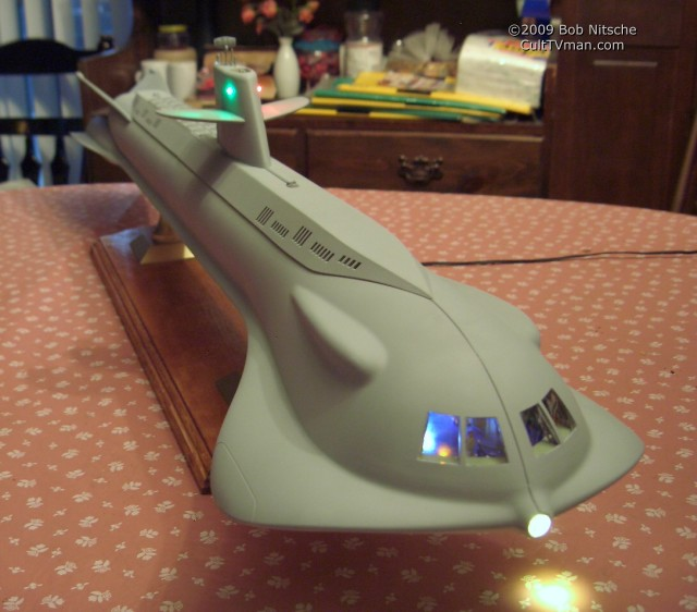 Bob Nitsche's Moebius Seaview – CultTVman's Fantastic Modeling